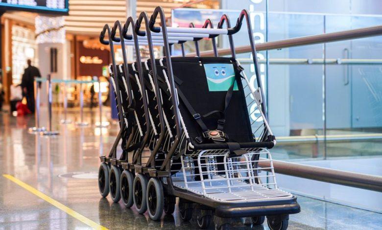 havalimanı cocuk arabasi1