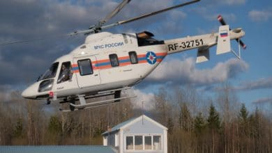 Photo of Rus EMERCOM ilk Ansat helikopterini teslim aldı
