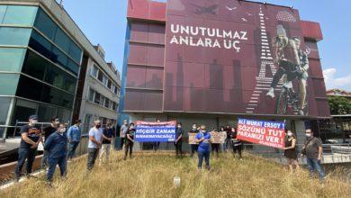 Photo of AZAP'tan Murat Ersoy'a protesto