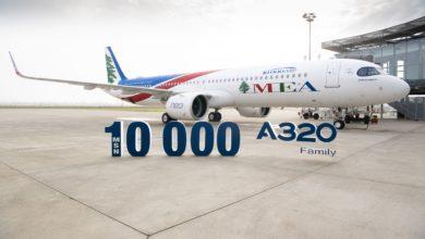 Photo of 10 bininci A320 uçağı MEA'ya gitti