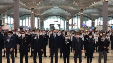 Photo of İstanbul Havalimanı'nda hayat 09.05'te durdu