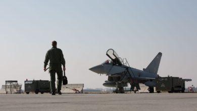 Photo of Konya'ya gelen İngiliz Eurofighter uçakları