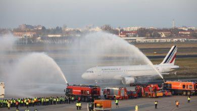 Photo of Tegel'den son uçuşu Air France yaptı