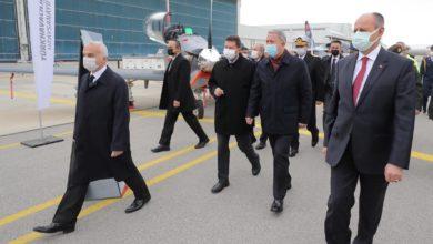 Photo of Bakan Akar'ın TUSAŞ ziyaretindeki ilginç detaylar