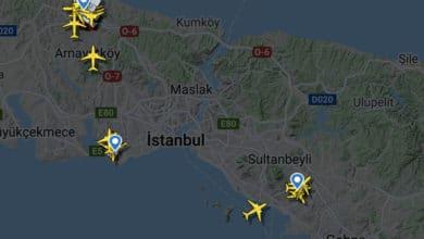 Photo of Beş uçak İstanbul Havalimanı'na yönlendirildi