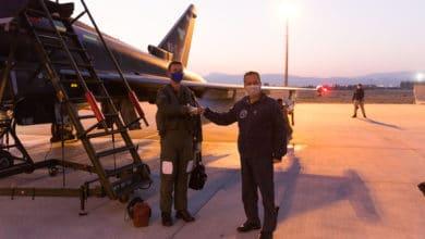 Photo of Siyah Eurofighter Konya'da