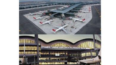 Photo of İstanbul ve Sabiha Gökçen Havalimanlarından rekor