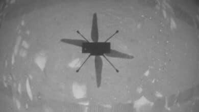 Photo of NASA'dan Mars'ta 40 saniyelik tarihi uçuş