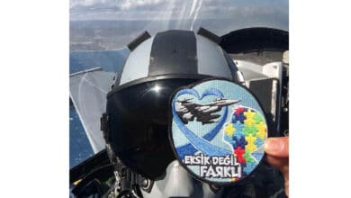 Photo of Türk Hava Kuvvetleri'nden otizm arması