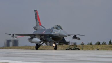 Photo of Kırmızı kuyruklu F-16'lar