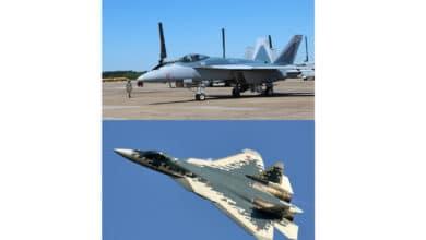 Photo of F/A-18'ler Su-57 renklerinde