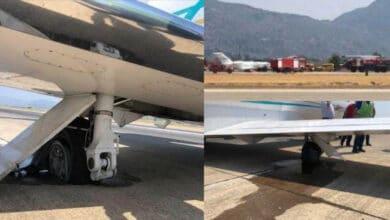 Photo of Özel jetin lastiği patladı, Dalaman Havalimanı'nda uçuşlar durdu