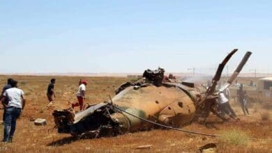 Photo of Libya'da iki helikopter çarpıştı
