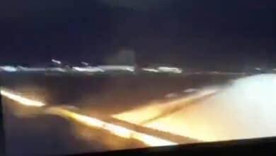 Photo of THY uçağında alev uzaması böyle görüntülendi