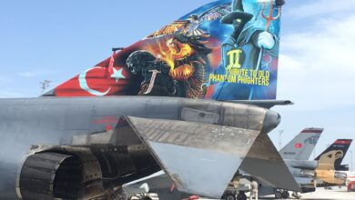 Photo of F-4E 2020'lere Teknofest'e özel kuyruk boyama