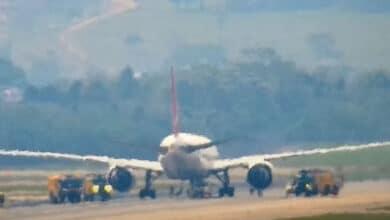 Photo of THY kargo uçağı Sao Paulo'da pistte kaldı