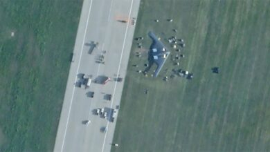 Photo of B-2 İnişte toprağa çıktı
